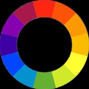cercle de couleurs chromatique pour peindre pieces et meubles