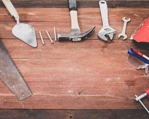 outils pour bricoler le dimanche